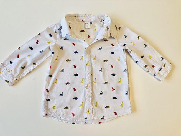 M Elegancka bawelniana koszula dla chlopca 80