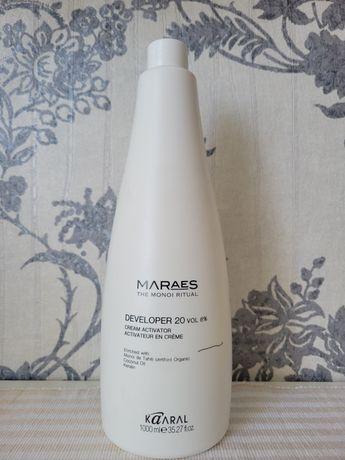 Окислитель Kaaral Maraes Developer 20 vol. 6% для безамиачной краски