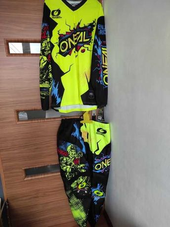 Nowy strój enduro motor Oneal M lub XXL