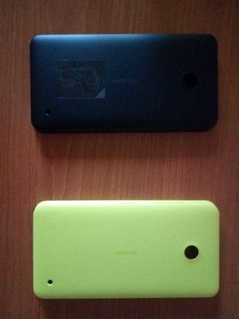 Задняя крышка для Nokia 630 Lumia Dual Sim только САЛАТОВАЯ