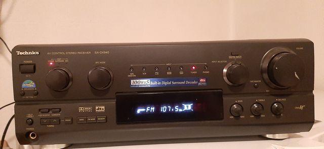 Technics Amplituner Kino Domowe SA-DX940 (wersja 120V)