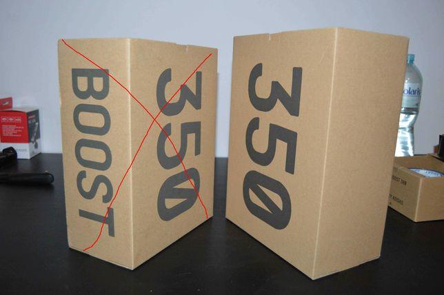 Sprzedam pudełko po Yeezy Boost 350 V2 39 1/3 oryginał + papier
