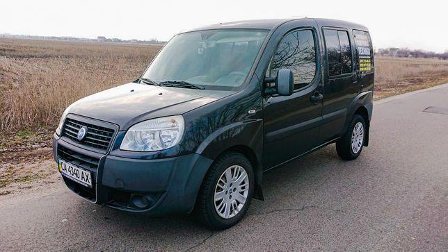 Fiat Doblo , пасажир , 1.4 Газ/бензин 2007год 155т.км ИДЕАЛ!
