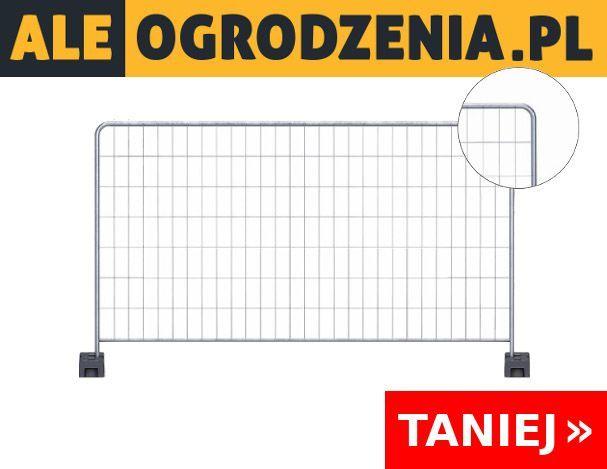 Ogrodzenie Tymczasowe/Budowlane Ażurowe Śląsk KOMPLET