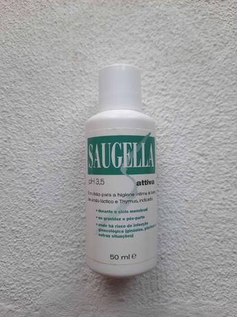 Saugella - Attiva - Emulsão para Higiene Intima 50ml