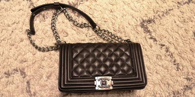 Chanel torebka czarna