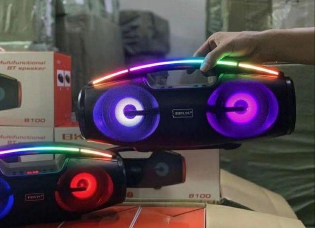 Głośnik Karaoke RGB ŚWIECĄCY 2021 Najnowszy