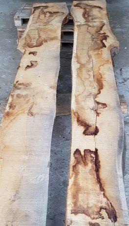 Deski, bale drewniane dąb 8cm