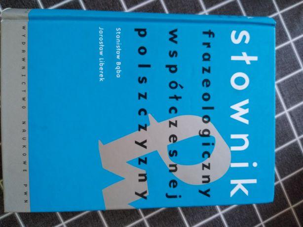 Sprzedam słownik frazeologiczny współczesnej polszczyzny