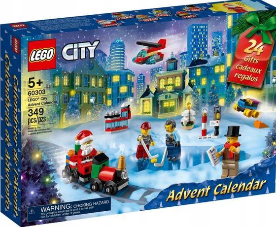 Klocki LEGO CITY  kalendarz adwentowy
