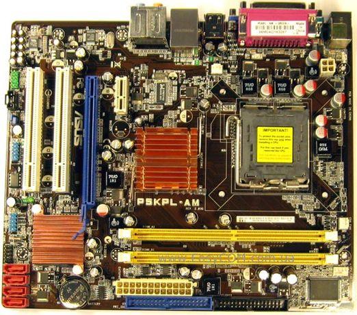 Материнские платы ASUS p5kpl-am(Intel G31) s775