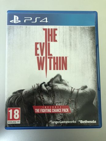 The evil withing gra Ps4
