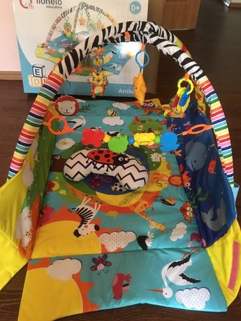 Детский розвивающий коврик  Lionelo 0+