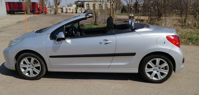 Peugeot 207 cc 1.6 benzyna niski przebieg 91 tys