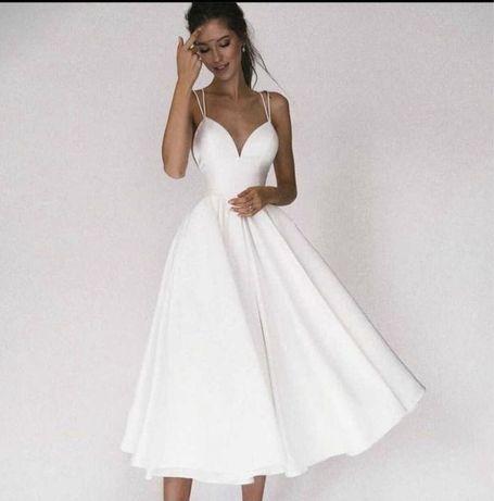 Платье солнце-клёш