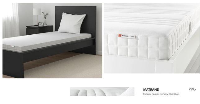 Nowy !Materac IKEA Matrand 90 twardy