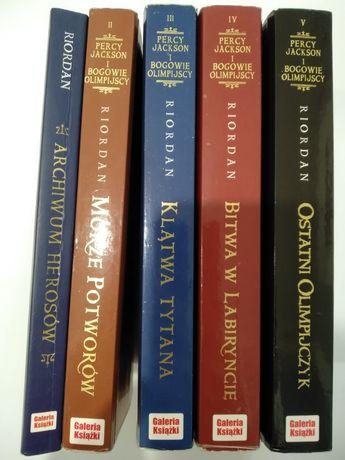 Rick Riordan - Percy Jackson i Bogowie Olimpijscy. 5 tomów