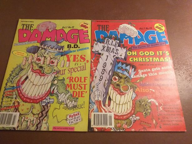 Komiks The Damage: Vol 2 No 12,13