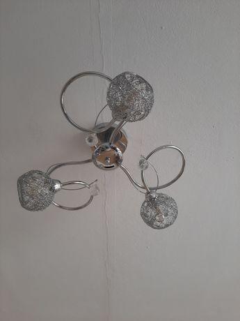 żyrandol z kryształkami w stylu glamour z salonu Agata meble