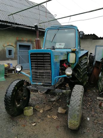 Трактор 80-ка,плуг. 5300