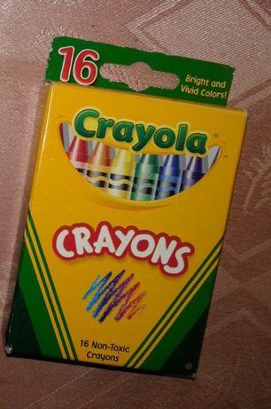 Восковые карандаши-мелки Crayola 16 шт.
