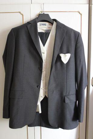 Ślubny garnitur Sunset Suite ,koszula,kamizelka 182/108/94 I klasy