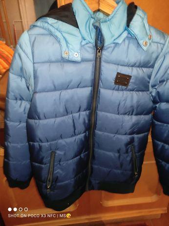 Куртка осень-теплая зима