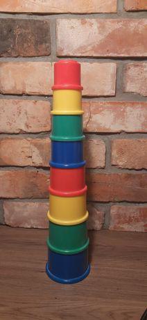 Fisher Price wieża z kubeczków