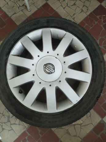 Alufelgi Nissan Primera P12 r.17 + opony letnie