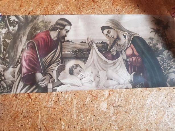 Obraz z Józefem Maryją i Jezusem
