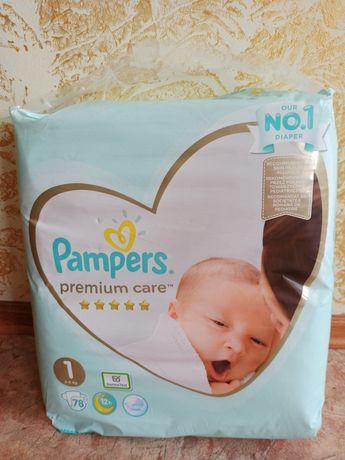 Подгузники Pampers premium care 1  78 шт.