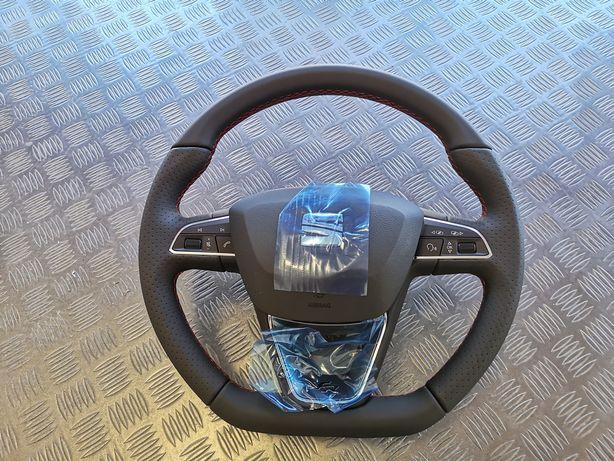 Volante Seat Leon FR 5F NOVO com Airbag