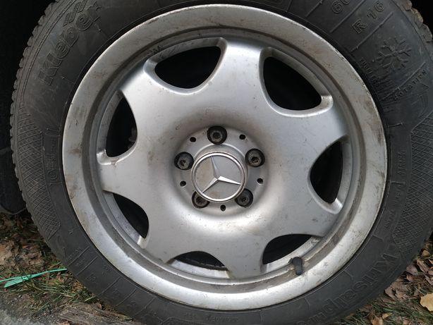 Кованные диски mersedes R16 5x112 dia 66,6 J7,5 A2114014302 205/60/16