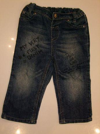 Spodnie dla dziewczynki roz. 80