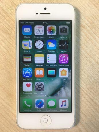 Смартфон Apple iPhone 5 16GB (78409) Уценка