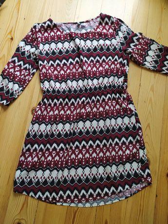 Sukienka boho H&M r. M