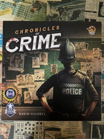 Kroniki zbrodni gra planszowa