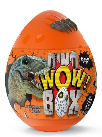 Яйцо Динозавра Danko Toys Dino WOW Box 35 см 20 сюрпризов ЛЬВОВ