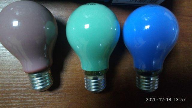 Лампи кольорові General Electric 25Вт