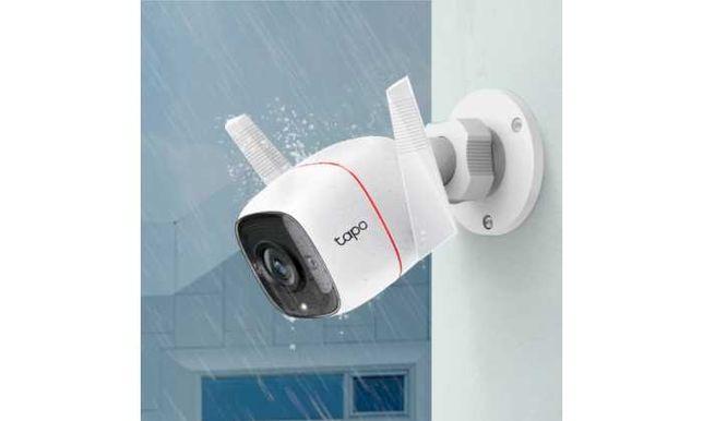 Câmara TP-Link - Câmara de Segurança Wi-Fi Exterior IP66