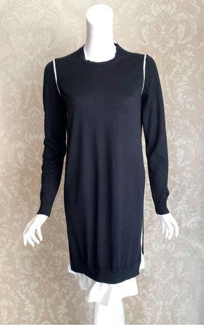 Fendi оригинал Италия черное шерстяное платье свитер
