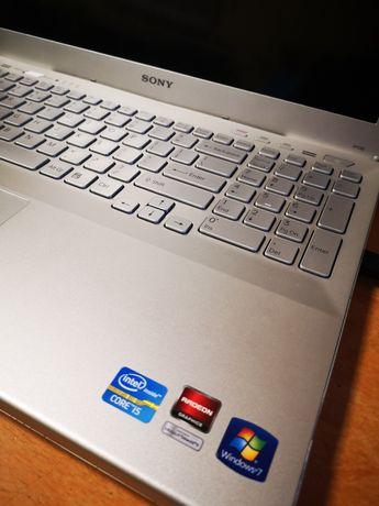 Laptop Sony i5 ssd 256GB