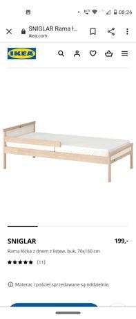 Łóżka dziecięce z materacem 70x160 singular IKEA