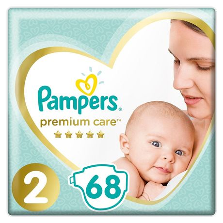 Pampers premium care размер 2 68 штук.