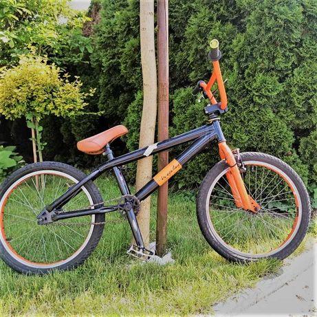"""Sprzedam rower BMX KS Cycling pomarańczowy, opony 20x1,95"""", rama 20"""""""
