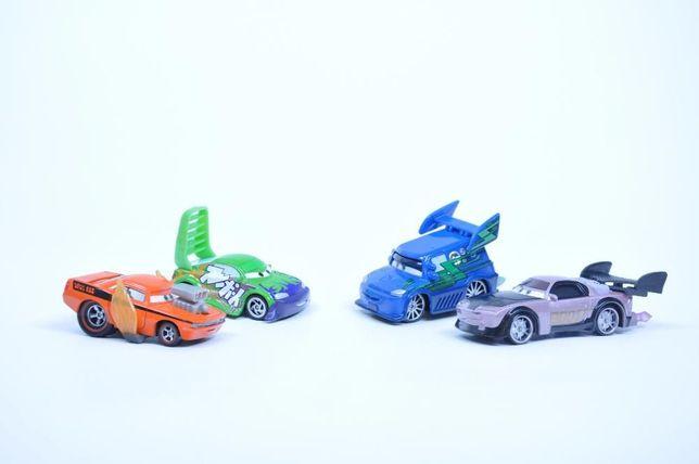 Машинки Тачки Тачки2 Cars (mattel) Диджей, Сморкач, Франческо итд.