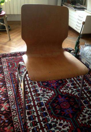 Krzesło industrial prl vintage bauhouse loft