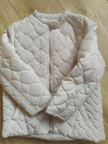 Wiosenno jesienna kurtka beżowa pikowana Reserved