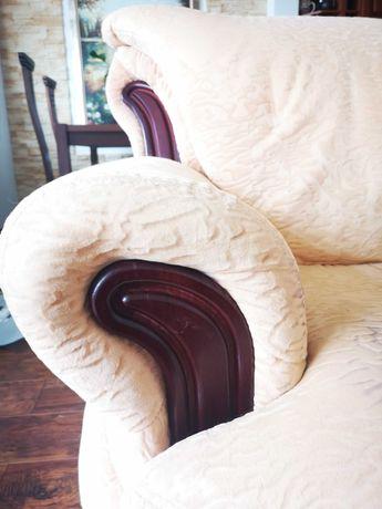 komplet wypoczynkowy do renowacji lub stelaż pod meble