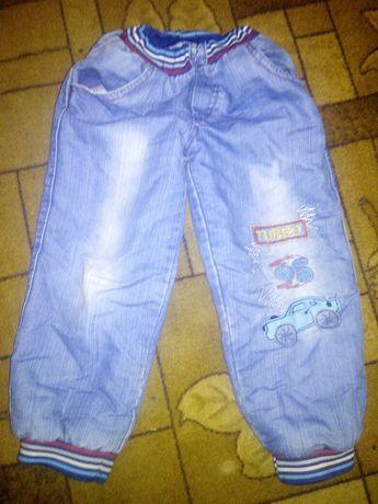 Продам теплые джинсы махра